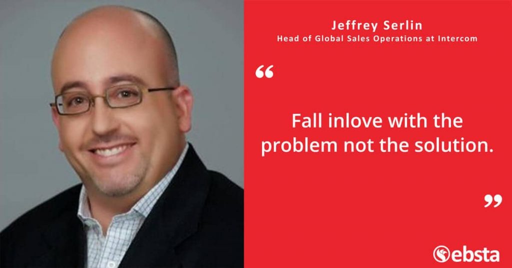 """There is no easy answer in Sales Operations but  having the ability to live with ambiguity is a plus."" - Jeffrey Serlin"