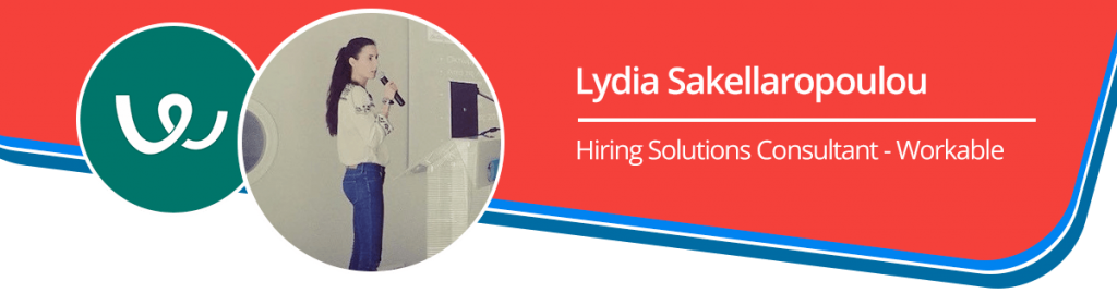 Lydia Sakellaropoulou Hiring Solutions Consultant - Workable