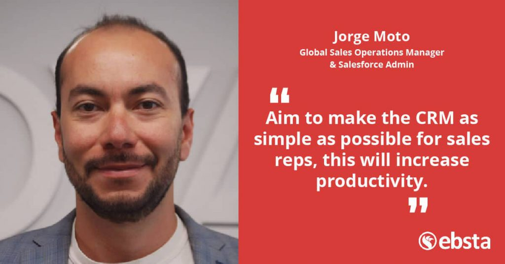 CRM for Sales - Jorge Moto