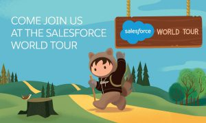salesforce world tour banner