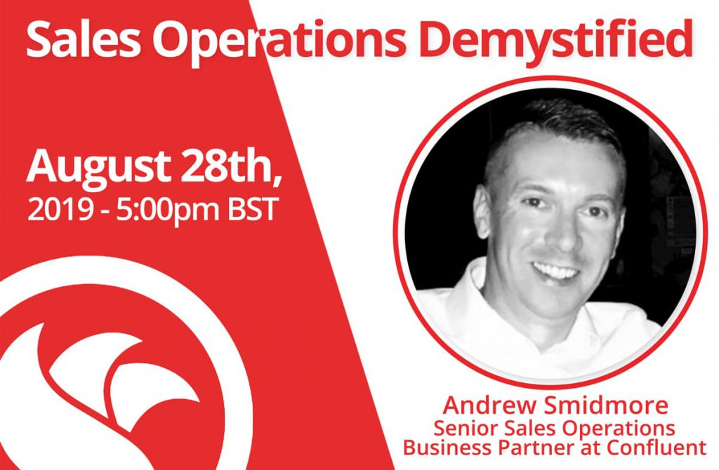 Senior Sales Operations Business Partner: Andrew Smidmore of Confluent