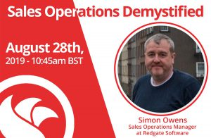 Sales Operations Manager: Simon Owens of Redgate Software