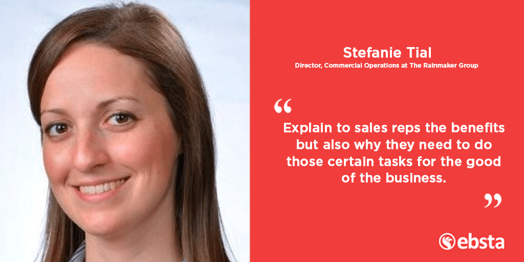 Stefanie Tial of The Rainmaker Group