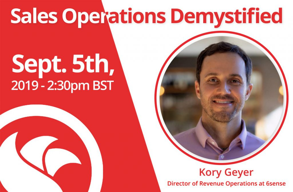 Director of Revenue Operations: Kory Geyer of 6sense