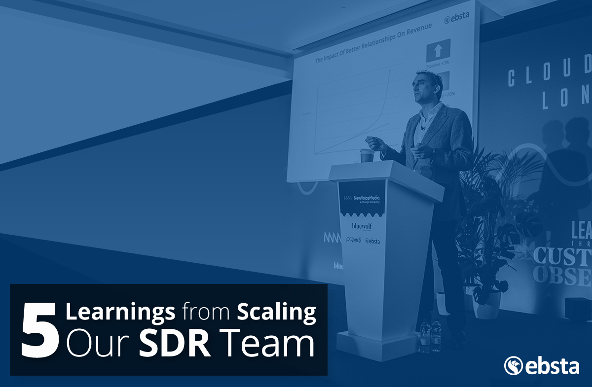 scaling sdr team