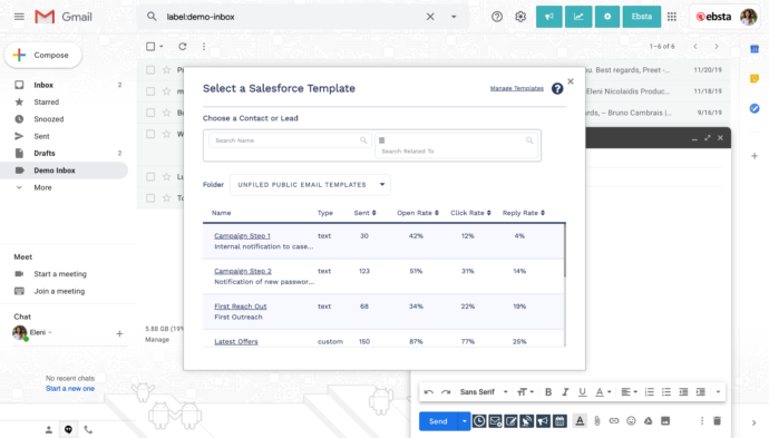 salesforce templates